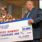 Bryce Downey Receives Scholarship From SafeKids and St Clair Ministerial Alliance
